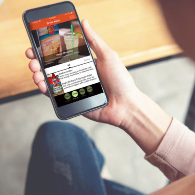 Easy-to-use app marries Boelter's foodservice expertise with the latest in mobile marketing features to drive customer engagement and restaurant traffic. (PRNewsfoto/Boelter)